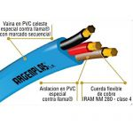 Cable Plano Bomba Sumergible 3X6MM ARGENPLAS