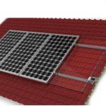 Kit para 4 paneles para techo de tejas
