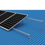 Kit para 4 paneles para techo metalico 15-30 Grados
