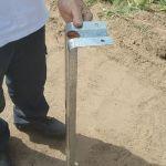 Estacas para soportes chapa plegable